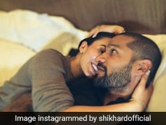 """Shikhar Dhawan Shares Adorable Valentine's Day Photo With His """"One And Only"""""""