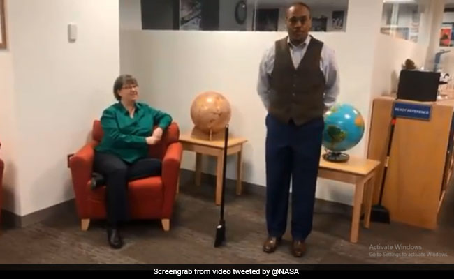 NASA Clarifies That Brooms Can Stand Upright Any Day Of The Year