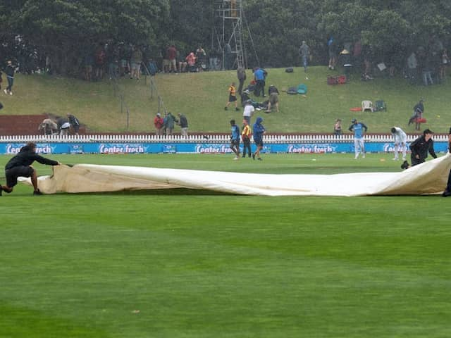 New Zealand vs India 1st Test Day 1 Highlights: Rain Halts New Zealand Charge With India Reeling At 122/5