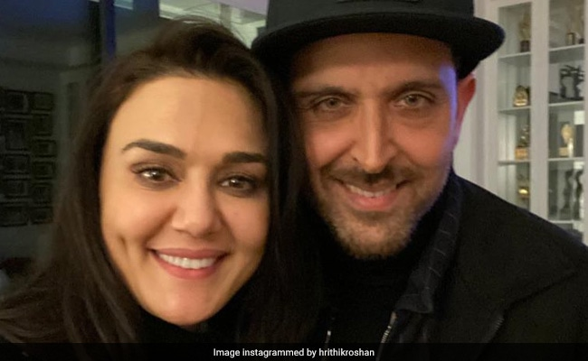Hrithik Roshan Joins Preity Zinta For Her Birthday Celebrations In Los Angeles
