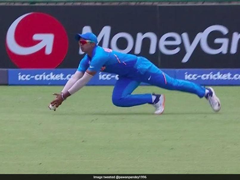 Watch: Divyansh Saxena's Sensational Catch Turns India vs Pakistan U-19 World Cup Semi-Final On Its Head