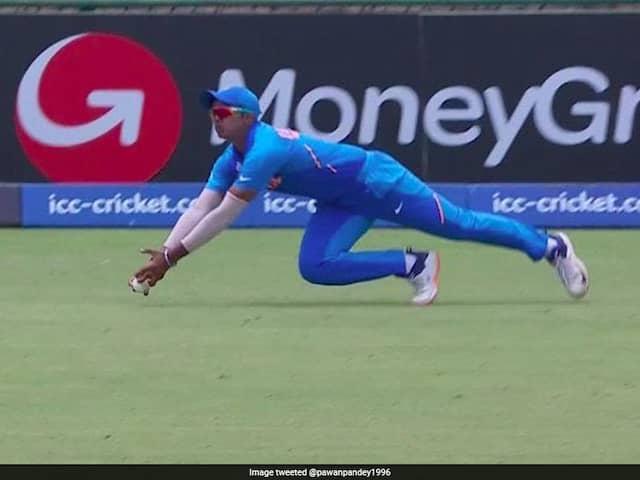 Watch: Divyansh Saxenas Sensational Catch Turns India vs Pakistan U-19 World Cup Semi-Final On Its Head