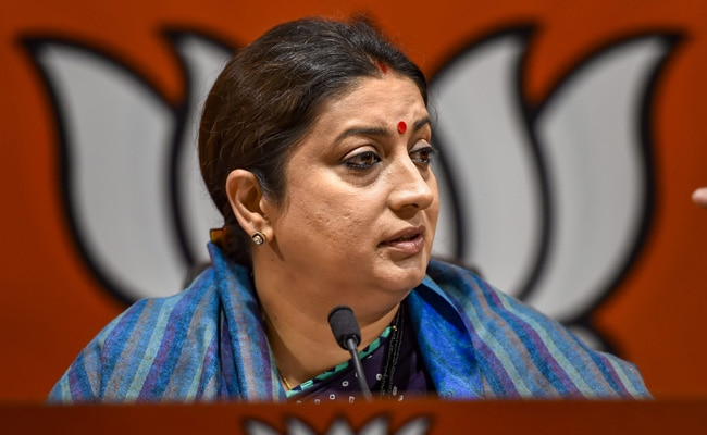 India's Laws 'Strong Enablers' Of Women Empowerment: Smriti Irani At UN