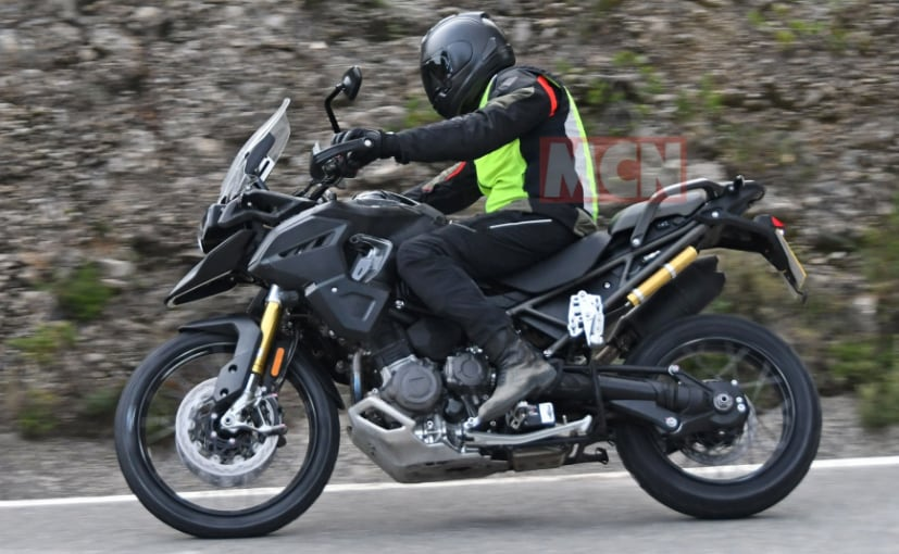 2021 Triumph Tiger 1200 Spotted On Test