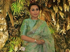 Rani Mukerji's Floral <i>Saree</i> Is What You Need For A Spring Wedding