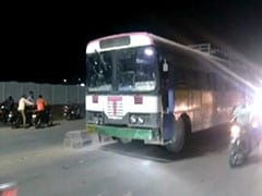 Unable To Find A Ride, Telangana Man Steals Bus