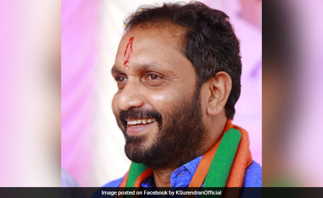 BJP Appoints K Surendran As Kerala Unit President