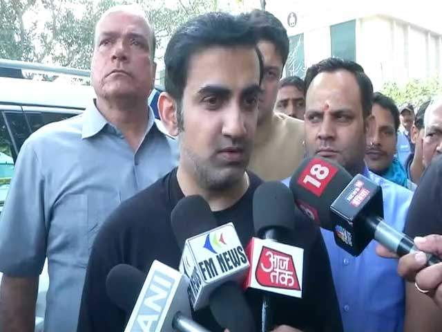 "Video : ""Kapil Mishra Speech Unacceptable"": BJP's Gautam Gambhir On Delhi Clashes"