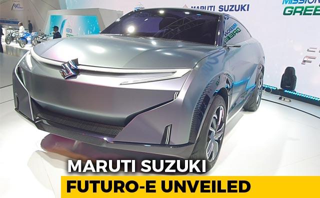 Maruti Suzuki Futuro-e Unveiled | Auto Expo 2020