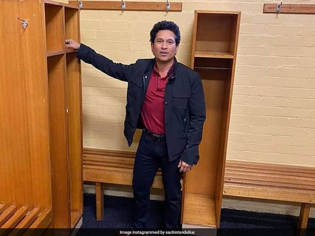 Sachin Tendulkar Gets Clicked By Yuvraj Singh At Sydney Cricket Ground. See Pictures