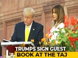 Video : Trump In Agra: 'Taj Mahal Inspires Awe'