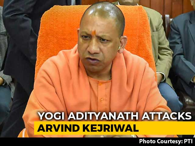 Video : After Arvind Kejriwal Chants <i>Hanuman Chalisa</i>, A Jibe From Yogi Adityanath
