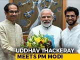Video : Amid Strain With Allies, Uddhav Thackeray Meets PM Modi In Delhi