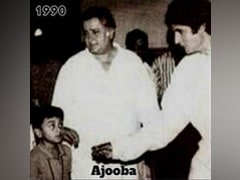 Ranbir Kapoor, Then And Now. Amitabh Bachchan Posts Pics 30 Years Apart. Bonus - Shashi Kapoor