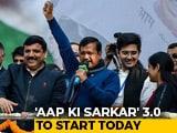 Video: Arvind Kejriwal 3.0 Starts Today With Oath At Ramlila Maidan