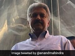 Anand Mahindra Shares Pic With Iron Man. No, Not The Marvel Superhero