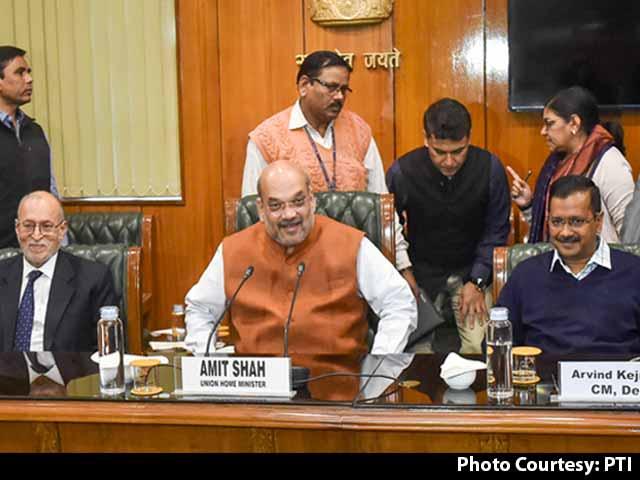 Video : Amit Shah Assured All Help: Arvind Kejriwal After Meet On Delhi Violence