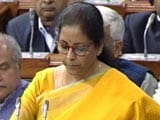 Video : Government's Debt Reduced To 48.7% Of GDP In 2019: Nirmala Sitharaman