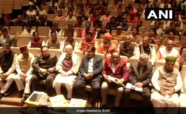 BJP Parliamentary Party Meeting Begins In Presence Of PM Modi