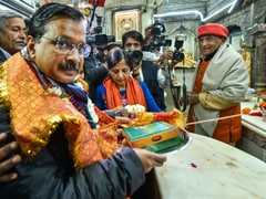 "After Arvind Kejriwal's Hanuman Temple Visit, BJP Flags Act Of ""Impurity"""