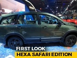 Video: Tata Hexa Safari Edition First Look