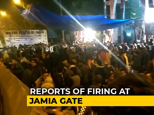 Video : Protest After 'Firing At Jamia Gate', Other Top Stories