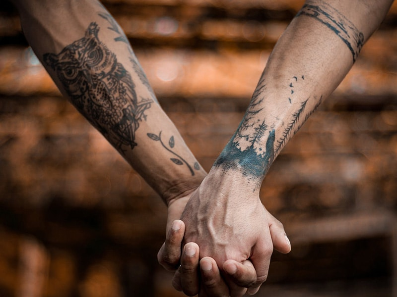 Would You Dare To Get A Couple Tattoo This Valentine's Day?
