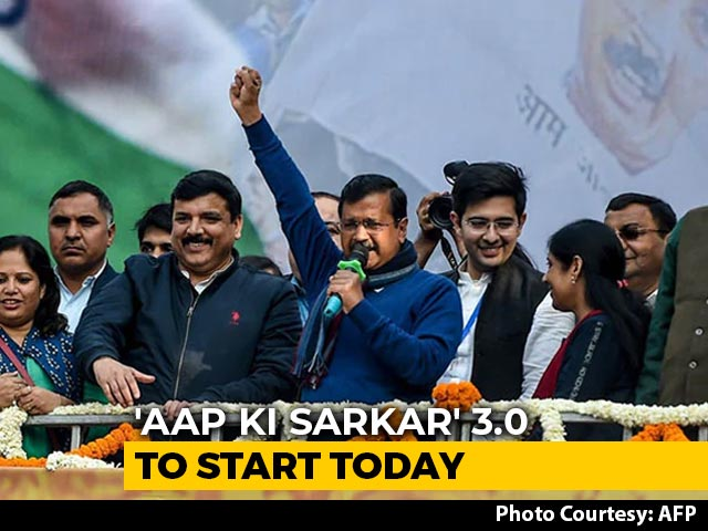 Video : Arvind Kejriwal 3.0 Starts Today With Oath At Ramlila Maidan