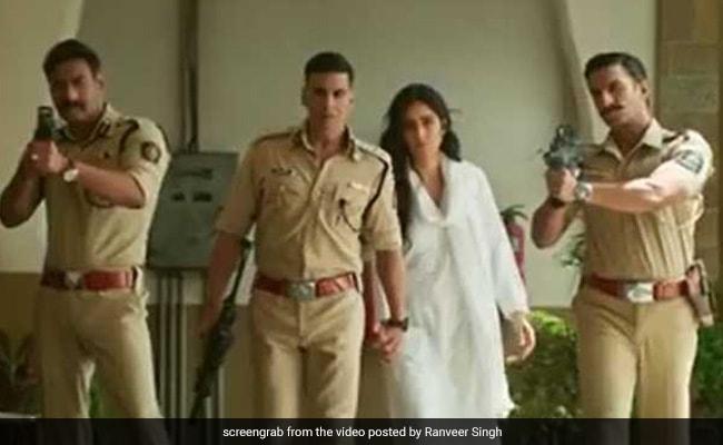 Sooryavanshi: 'Aa Rahi Hai Police,' Announce Akshay Kumar, Ajay Devgn And Ranveer Singh