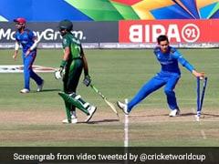 Watch: Afghan Spinner 'Mankads' Pakistan Batsman In U-19 World Cup, Leaves Twitter Divided