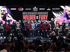 Deontay Wilder, Tyson Fury Bulk Up For Heavyweight Showdown
