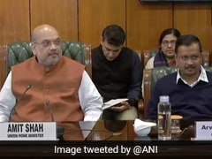 Delhi Violence: Amit Shah Chairs Meet With Arvind Kejriwal, Lt Governor