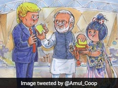 ''Namaske President Trump'': Amul Welcomes US President With Special Cartoon