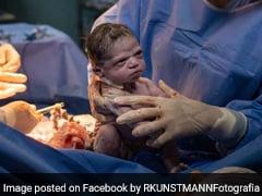 जन्म के बाद डॉक्टर ने मारा तो गुस्से से देखने लगी बच्ची, सोशल मीडिया पर हुई Memes की बरसात