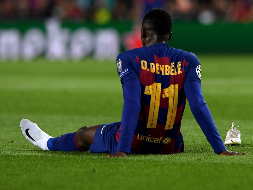 Ousmane Dembele To Miss Euro 2020 After Hamstring Surgery