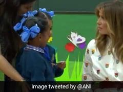 डोनाल्ड ट्रंप की पत्नी पहुंची सरकारी स्कूल, बच्ची बोली- 'मेरा नाम पूजा है...' तो ऐसे किया रिएक्ट, देखें Video