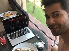 <I>Coolie No 1</I>: Varun Dhawan Wraps The Film And Celebrates It With Pancakes