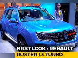 Renault Duster 1.3 Turbo Petrol First Look