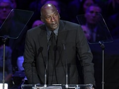 "Tearful Michael Jordan Commemorates ""Little Brother"" Kobe Bryant"
