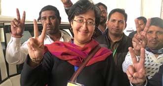 ''आम आदमी पार्टी गुजरात में BJP का विकल्प बनकर उभरेगी'', आतिशी बोलीं-निकाय चुनाव लड़ेंगे