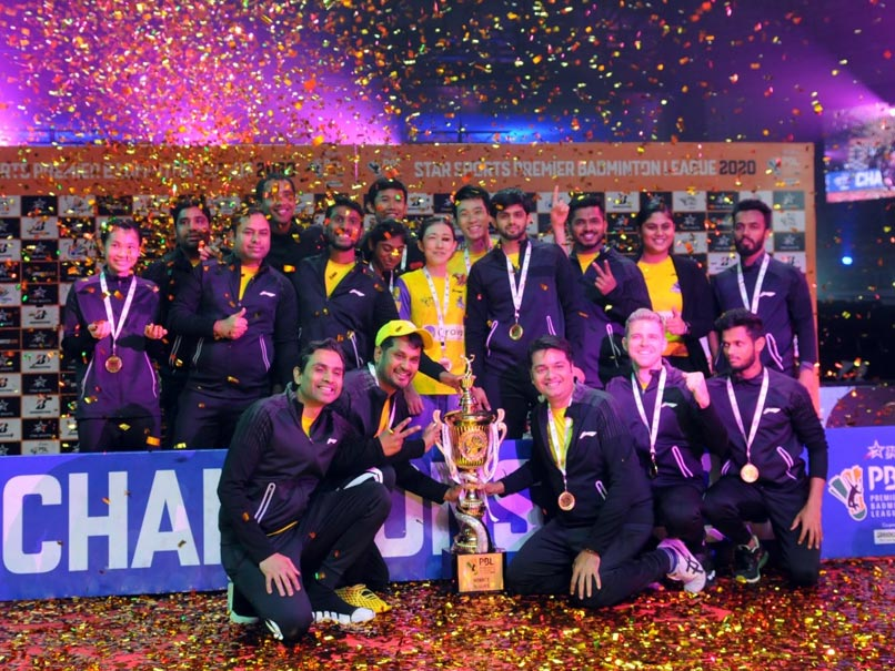 Premier Badminton League: Sai Praneeth, Tai Tzu Ying Take Bengaluru Raptors To Second Consecutive Title