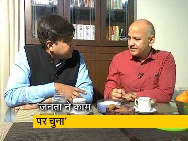 Videos : केजरीवाल के शपथ समारोह से पहले मनीष सिसोदिया ने NDTV से की खास बातचीत