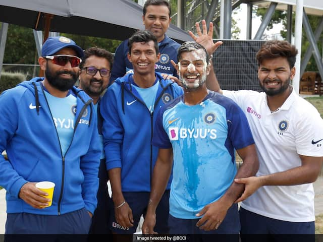 NZ vs IND:Team india players celebrate birthday of Mayank Agarwal