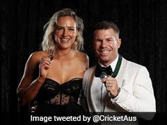 David Warner, Ellyse Perry Win Top Honours At Australia Cricket Awards