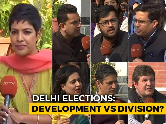 Video : Delhi Election A Contest Between Development Agenda And Divisive Politics?