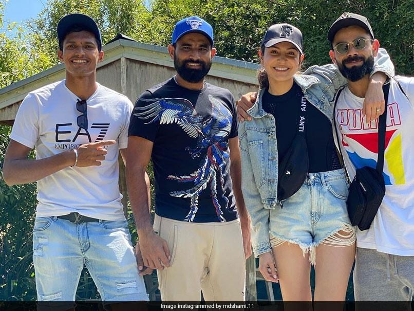 Anushka Sharma joins Virat kohli in New Zealand and whole team plan of trip, VIDEO