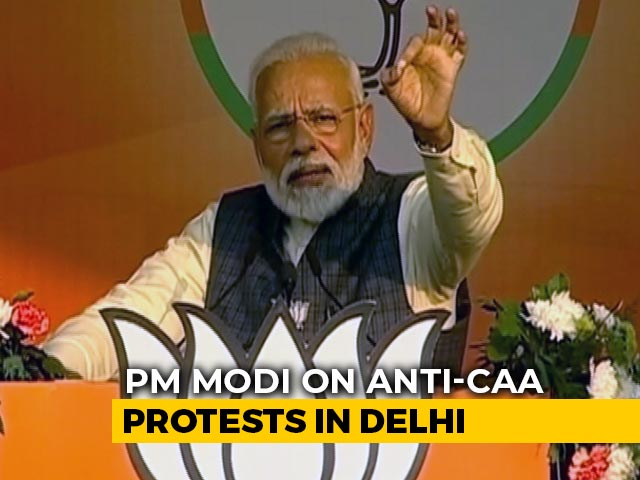 """Video : """"No Coincidence But An Experiment"""": PM On Anti-CAA Protests In Delhi"""