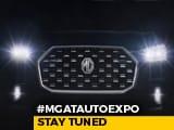 Video: #MGAtAutoExpo   Stay Tuned