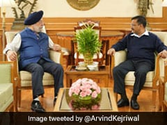 Will Make Delhi Best In World: Arvind Kejriwal After Meeting Hardeep Puri