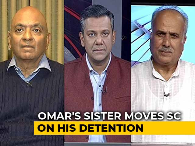 Video : Omar Abdullah's Sister Files petition in Supreme court Against His Detention